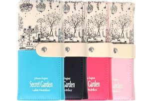 Dámská peněženka - Tajná zahrada - poštovné zdarma