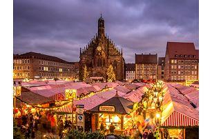 1denní zájezd na aventní trhy do Norimberku