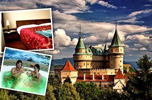 2099 Kč za 3-denní pobyt v termálech Bojnice v 3* hotelu s polopenzí pro dva - Bojnický zámek, termální lázně a největší slovenská ZOO na jednom místě! Nástup kterýkoliv den v týdnu, platnost až do 30.4.2017