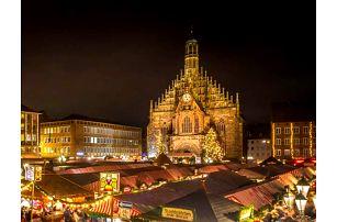 Adventní zájezd do Norimberka s průvodcem