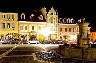 3denní romantický wellness pobyt pro dva v hotelu Morris v České Lípě
