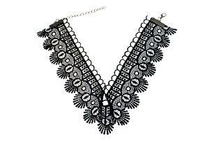 Fashion Icon Náhrdelník gothic choker krajka