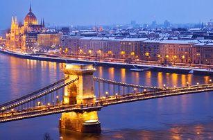Předvánoční Budapešť s návštěvou lázní