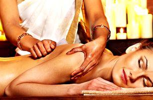 Ayurvédská masáž hlavy, zad a krční páteře