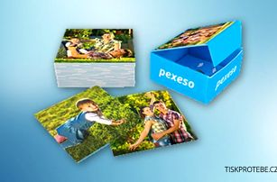 Zábavné fotopexeso z vašich fotografií + krabička