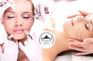 Aplikace botulotoxinu pro okamžité vyhlazení vrásek za 20 minut + konzultace a příprava