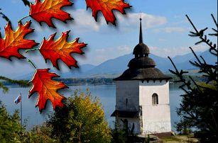 Podzimní pobyt v Nízkých Tatrách se snídaněmi i saunou