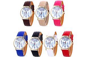 Dámské náramkové hodinky s lapačem snů - 7 barev