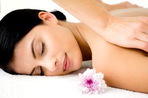 60minutová relaxační masáž v centru Brna