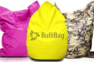Sedací pytle značky BulliBag s poštovným zdarma