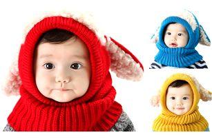 Zimní kukla pro děti Ovečka
