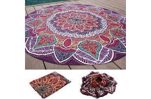 Plážový ručník - orientální styl - 145 cm