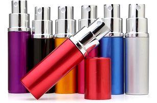 Prázdná lahvička s rozprašovačem na parfémy - poštovné zdarma