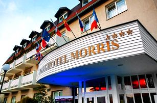 3denní romantický pobyt pro 2 osoby s wellness v Novém Boru v Parkhotelu Morris