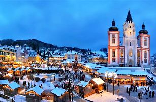 Adventní zájezd do rakouského Mariazellu a průvod čertů v Gusswerku pro 1 osobu
