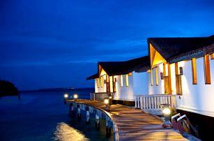 Maledivy - na 8 až 9 dní, snídaně s dopravou letecky z Prahy