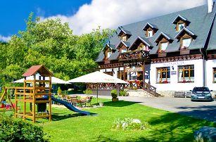 3–8denní pobyt s polopenzí a wellness pro 2 v penzionu Encián ve Vysokých Tatrách