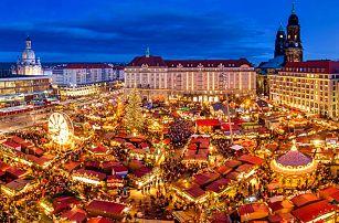 Adventní zájezd do Drážďan pro JEDNOHO – odjezdy z mnoha měst
