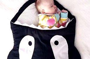 Dětský spací pytel Kosatka