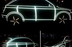 Reflexní samolepky na auto či kolo - poštovné zdarma