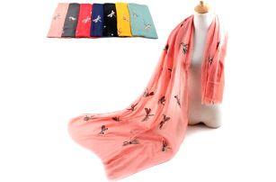Dámský šátek s vážkami