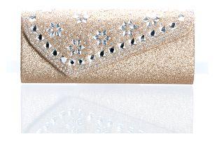 Fashion Icon Psaníčko společenské kytka s krystalky