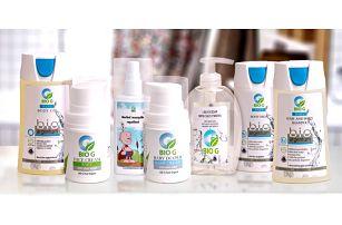 Dětská přírodní kosmetika s obsahem stříbra