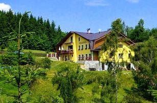 3 až 6denní pobyt pro 2 nebo rodinu v apartmánu penzionu Krásná v Jizerských horách