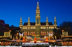 Adventní Vídeň s vánočními trhy: 1denní zájezd pro 1os.: doprava z Brna i Prahy a průvodce