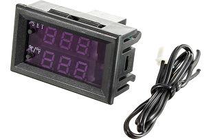 Inteligentní regulátor teploty - DC 12V nebo 24V