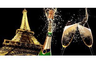 Romantický Silvestr v Paříži s 1 nocí v hotelu