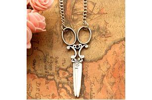 Vintage náhrdelník Nůžky