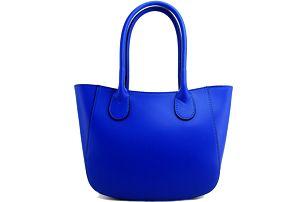 Kožená kabelka Filena Blue - doprava zdarma!