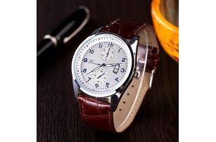 Pánské elegantní retro hodinky - poštovné zdarma