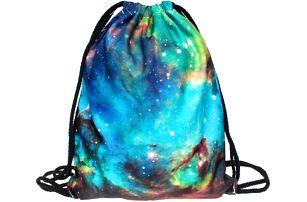 Vak na záda s pestrobarevnými motivy - Galaxie - skladovka - poštovné zdarma