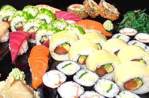 Gurmánova cesta do Asie: Parádní sushi set