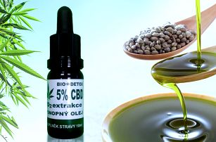 Konopný olej Bio Detox 5% CBD 10 ml