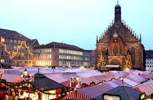Pohádkové adventní trhy v Norimberku: 10.12.