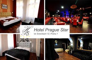 Luxusní pobyt se snídaní ve všední dny v hotelu Prague Star