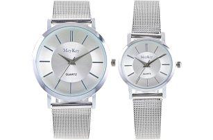 Ležérní náramkové hodinky pro muže i ženy - 2 barvy