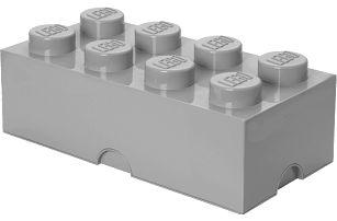 LEGO® Úložný box velikost 4 šedá