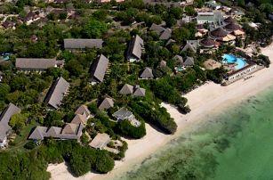 Keňa - Diani Beach na 9 dní, all inclusive s dopravou letecky z Prahy
