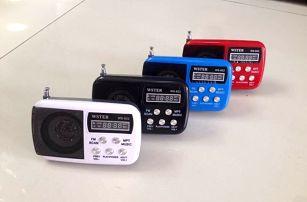 Multifunkční mini rádio WS-822