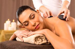 90min. ruční lymfatická masáž nebo 60min. masáž lávovými kameny, Olomouc