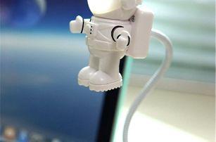 Nastavitelný USB LED svítící astronaut