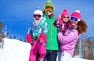 Zima v Krušných horách - polopenze i wellness