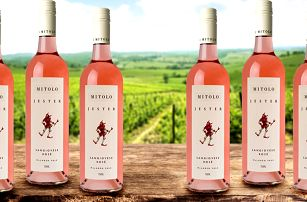 Exkluzivní růžové víno Jester z Austrálie