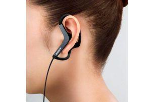 Sluchátka Sony MDR-AS200 ideální při sportu