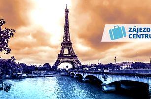 Paříž na 4 dny pro 1 osobu včetně ubytování a snídaně + doprava a termální lázně Amberg