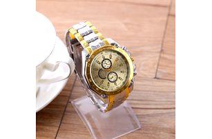 Pánské kovové hodinky s velkým ciferníkem - dodání do 2 dnů